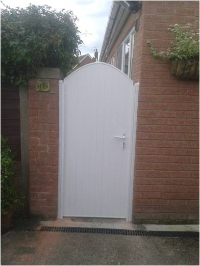 Durable Upvc Plastic Gates